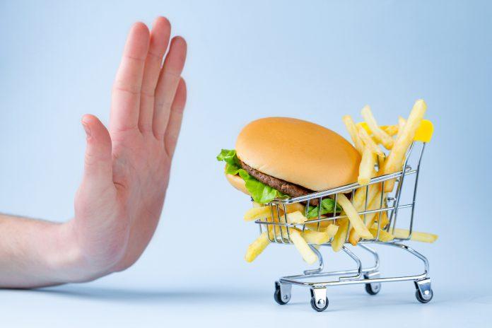 odmowa niezdrowego jedzenia
